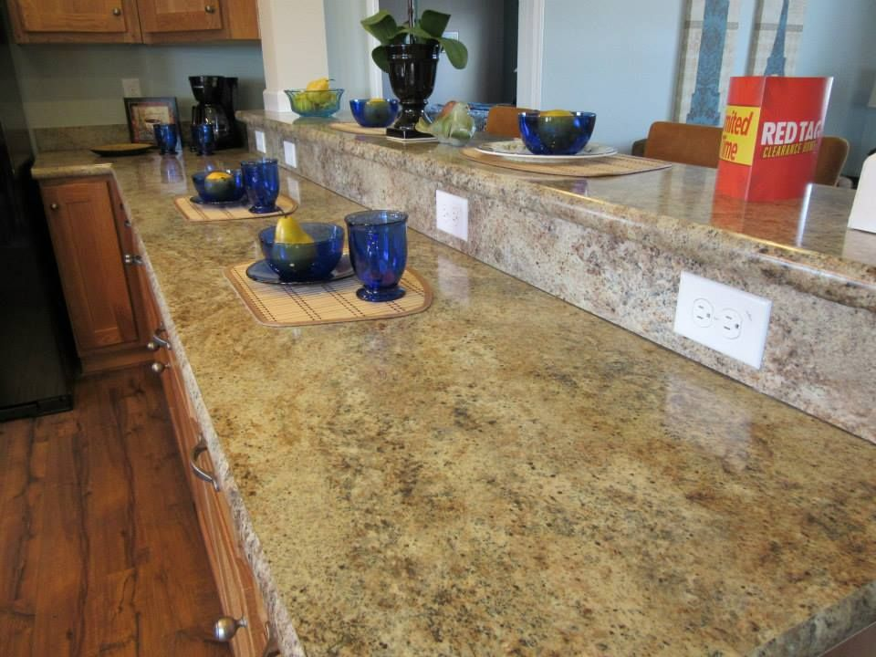 Faux Granite Counter Tops In A Schult Genesis Modular Home Way Less Expensive Than Granite And Less Upkeep With The Same Look Faux Granite