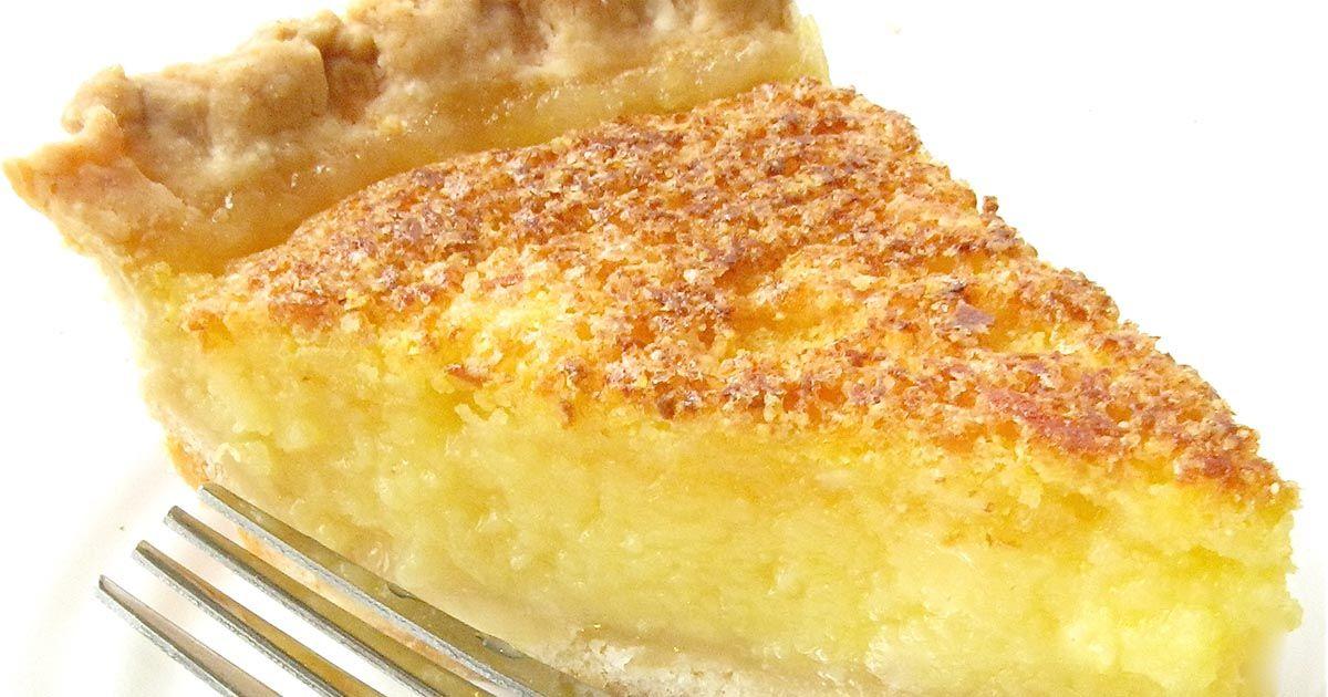 Lemon Chess Pie Recipe King Arthur Flour Chess Pie Recipe King Arthur Flour Recipes Lemon Recipes