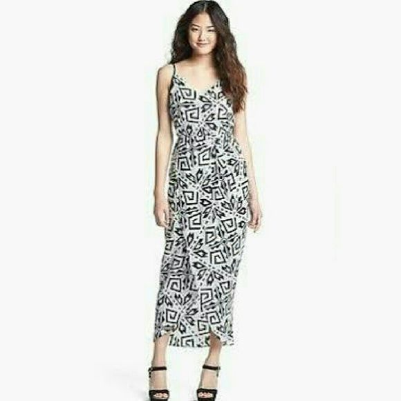 """Amanda Uprichard Silk Print Maxi Dress **Worn only once for a few hours** -100% silk -""""faux wrap"""" style-no tying -Elastic waist -V neck and back -Very cool, comfortable, and flowy, perfect for a summer party  -Size details : I'm 5'7 and the back of the dress reaches my ankles, so I wore a pair of wedges with it. Also as a pear shape body I was really impressed with how flattering and comfortable the lower half was! Amanda Uprichard Dresses Maxi"""