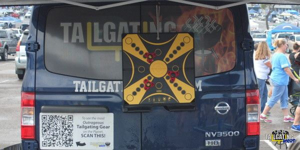 """After thoroughly testing and playing KOOBA, Tailgating Ideas loved the combination of a safe untraditional dart game you can tailgate with indoors or out.   That's why they've rated KOOBA definitely """"Tailgate Approved!"""""""