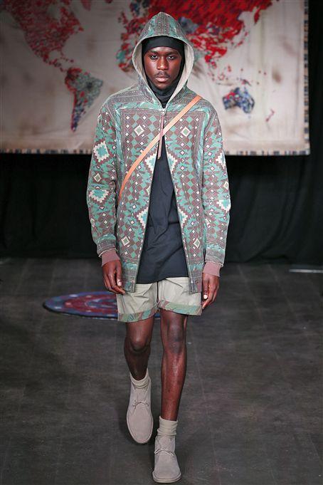 Maharishi SS15 http://www.fashionsnoops.com/ReportPage/men/Runway Analysis/Themes/London-Themes-26710/Spring 15-38