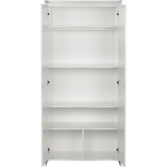 charlie wardrobe in view all storage | CB2