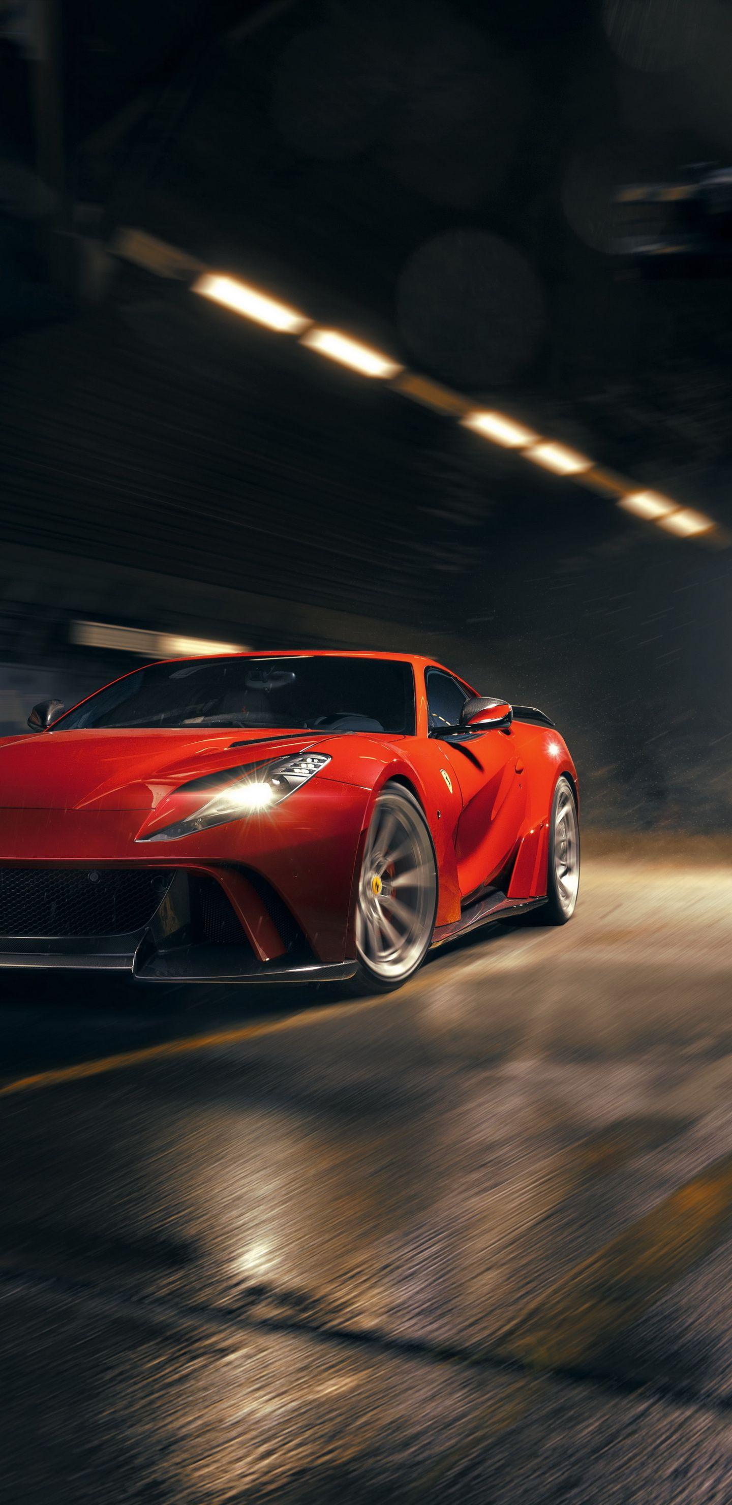 1440x2960 Novitec N Largo Ferrari 812 Superfast 2019 Red Car