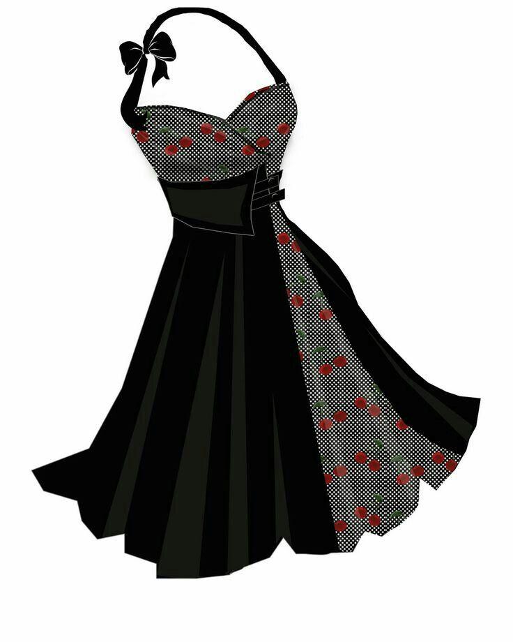 Pin von Rosie Hernandez auf Vintage 50\'s dresses & others ...