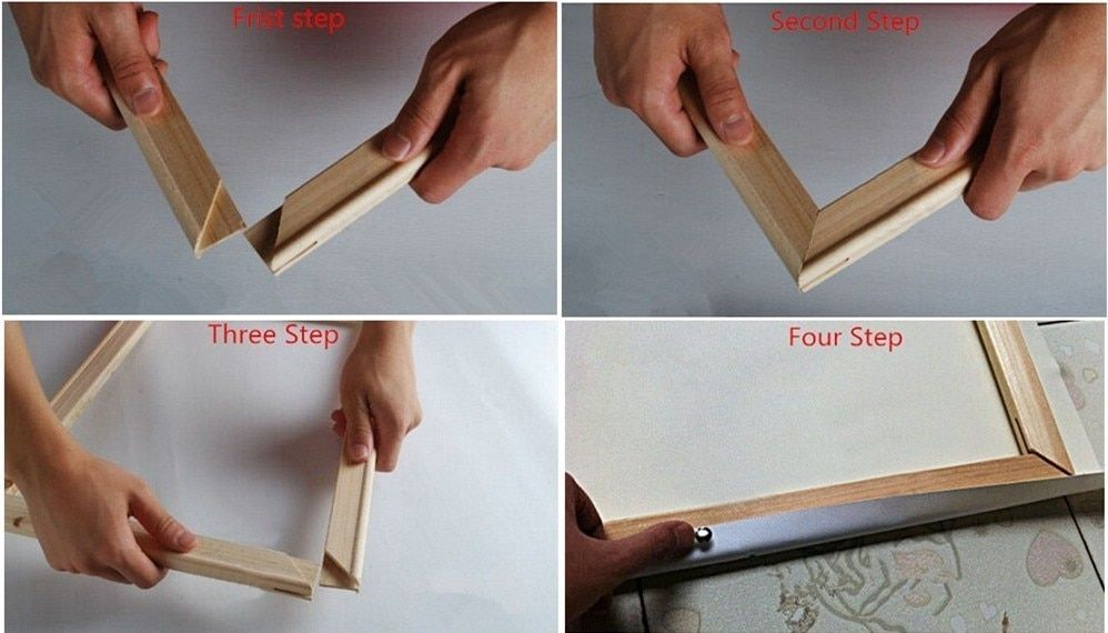Diy wooden frame for your paintings paintingscart