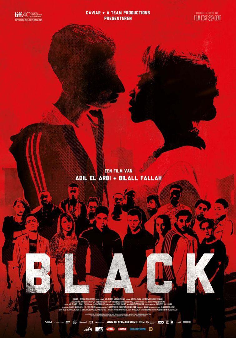 Black (Francia/Belgio 2015) .- poster Belgio