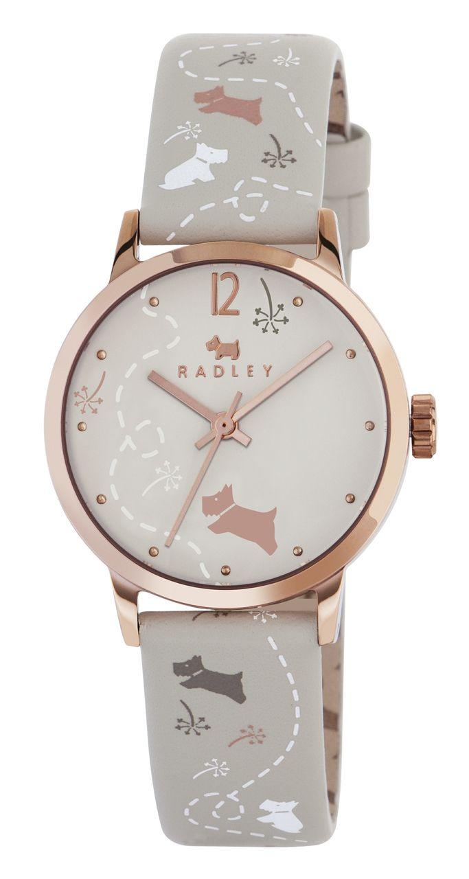 Radley ladies leather gloves - Radley Ladies Meadow Cream Leather Strap Watch Ry2342