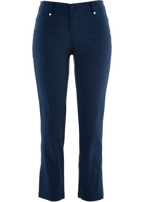Pantalon extensible amincissant 7/8, bpc bonprix collection, blanc