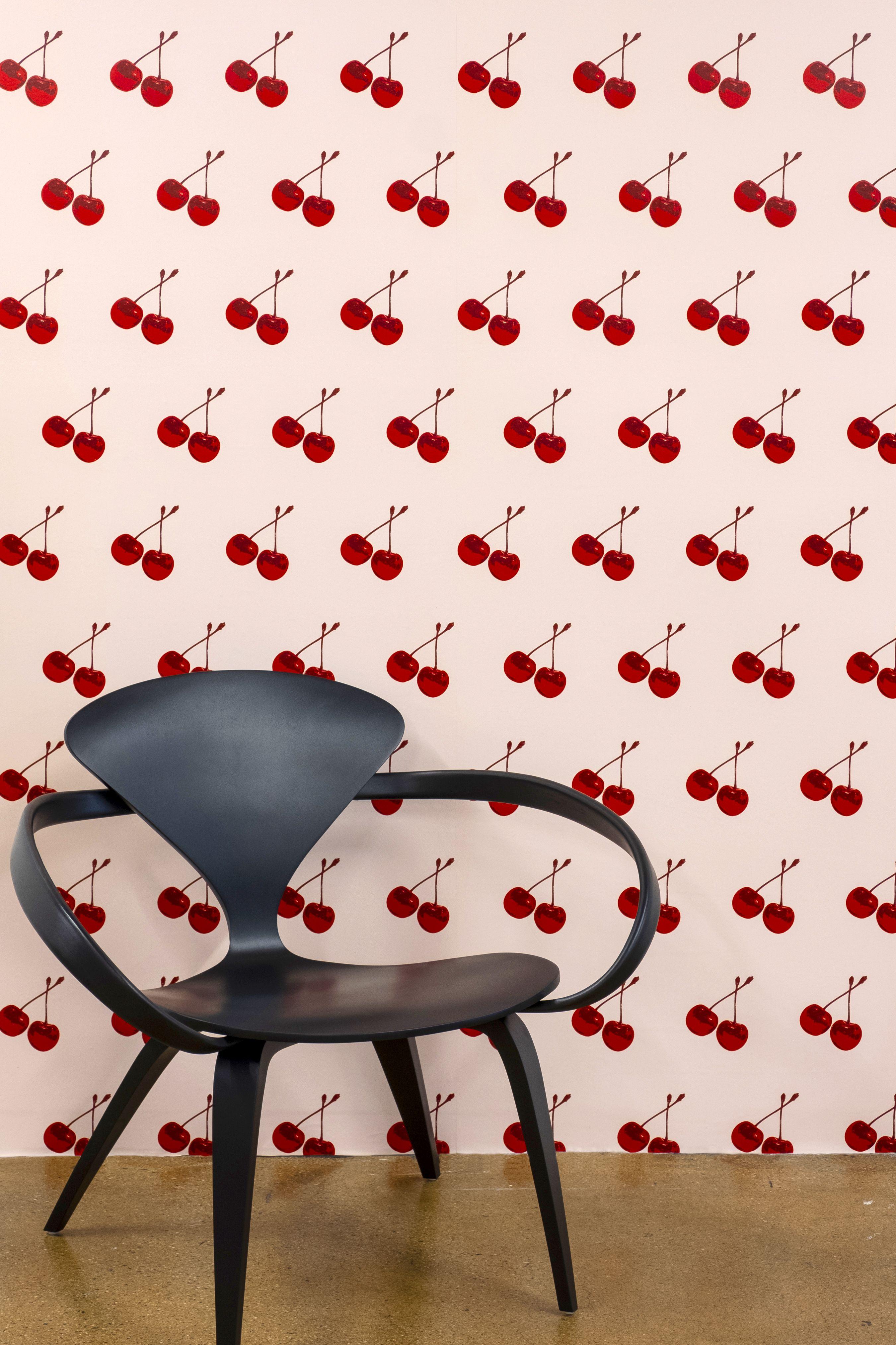 Cherry Forever Pop Art Design Wallpaper