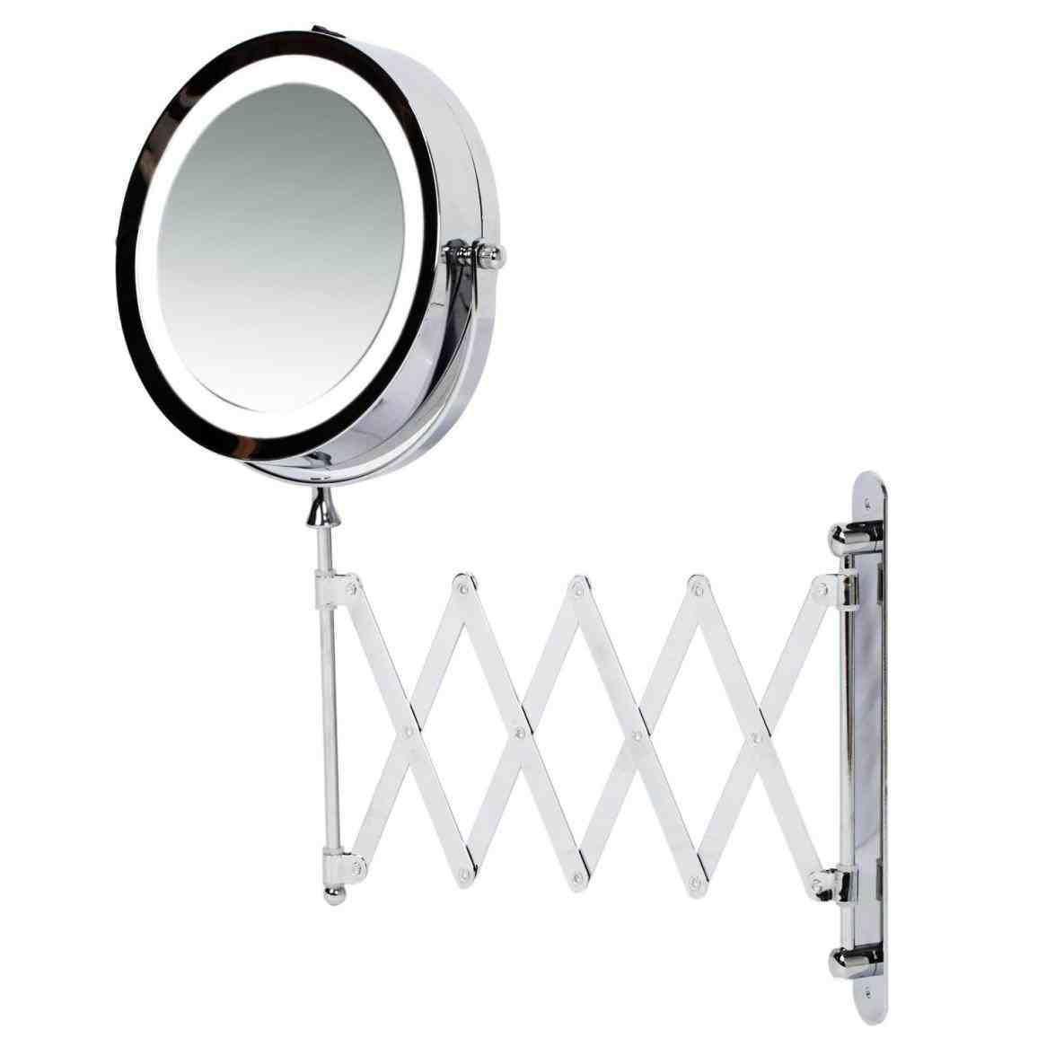 New Post extending magnifying bathroom mirror | LivingRooms ...