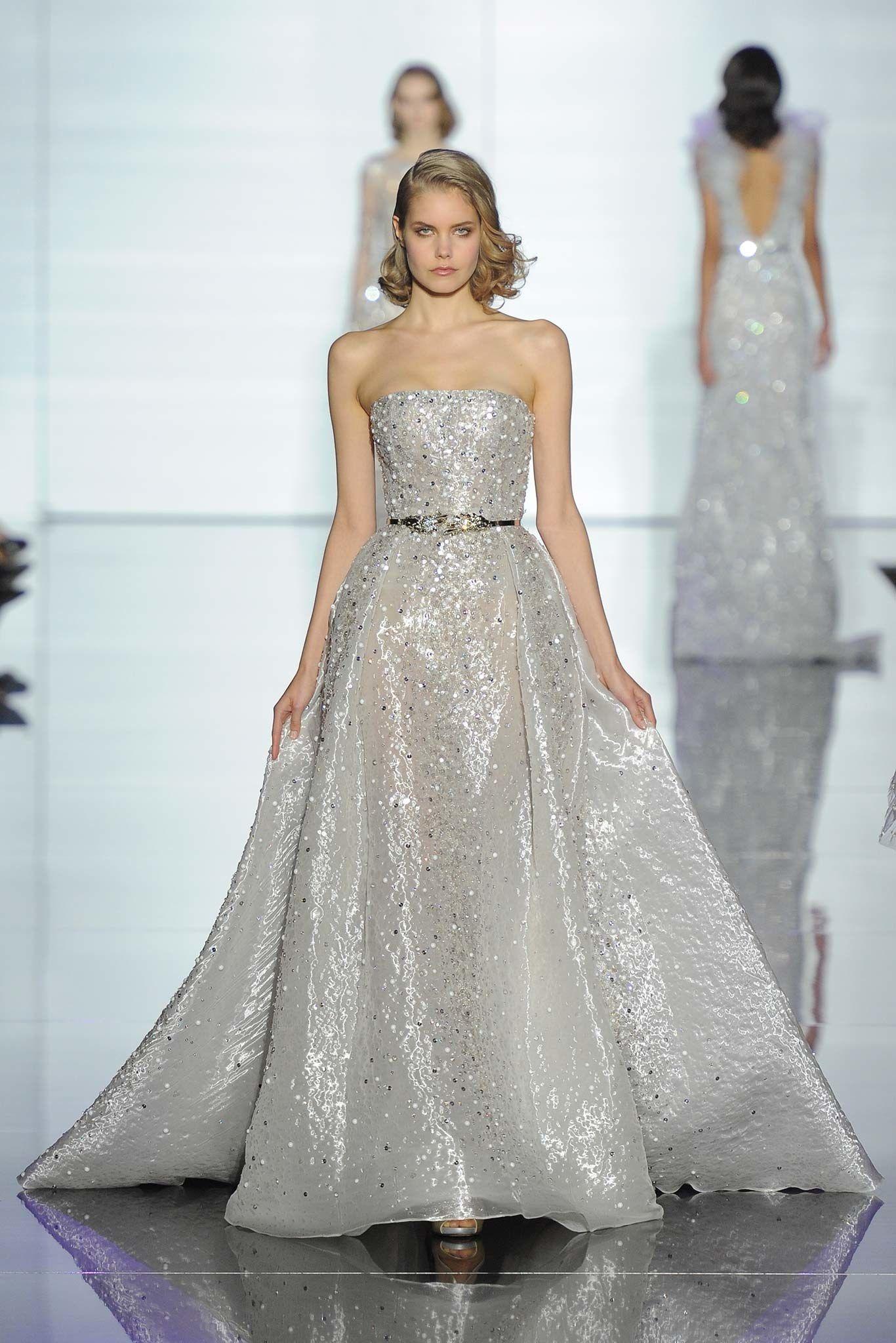 Zuhair Murad Spring 2015 Couture Fashion Show - Sanny Vantaa (Metropolitan)