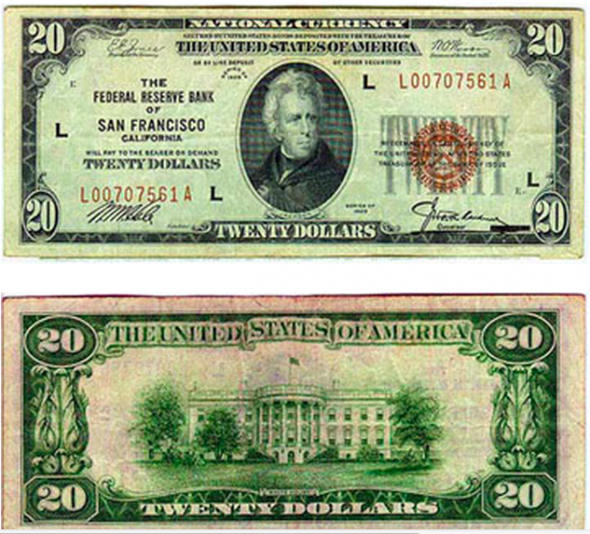 The Complete Illustrated History Of The 20 Bill Banknotes Money Money Poster Bank Notes
