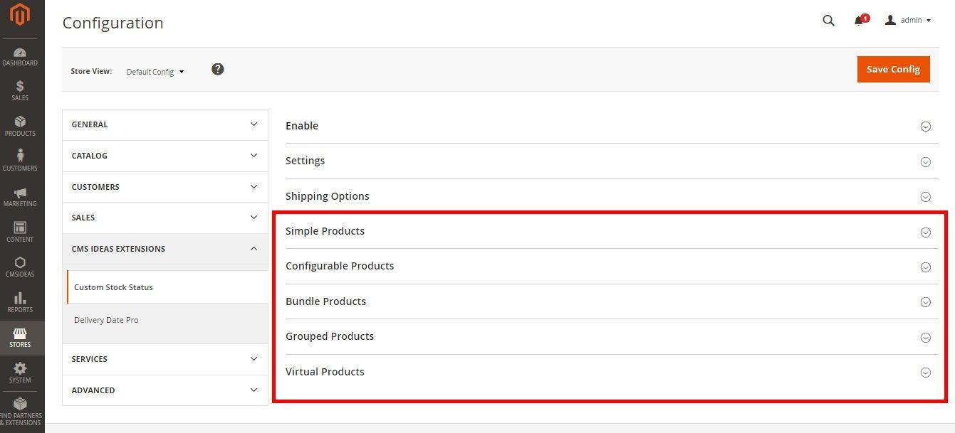 Magento 2 stock status custom