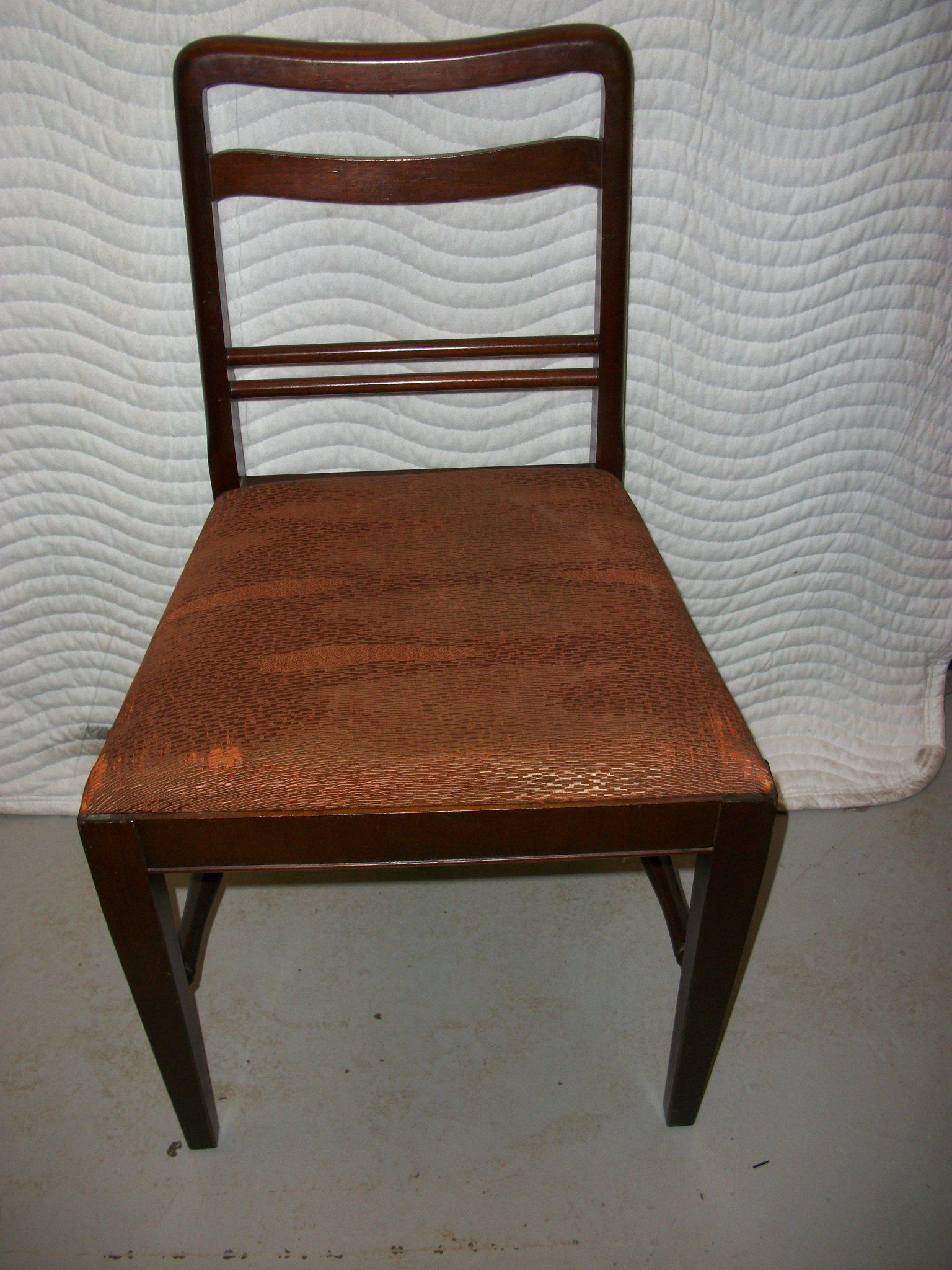 1992.40.4, chair, West Michigan Furniture Company, ca. 1927. - 1992.40.4, Chair, West Michigan Furniture Company, Ca. 1927