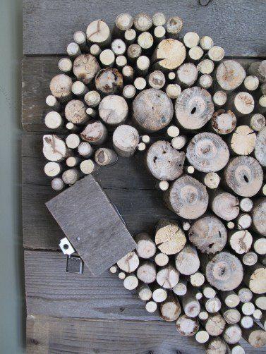 Pallet Wood And Sticks Valentineu0027s Heart