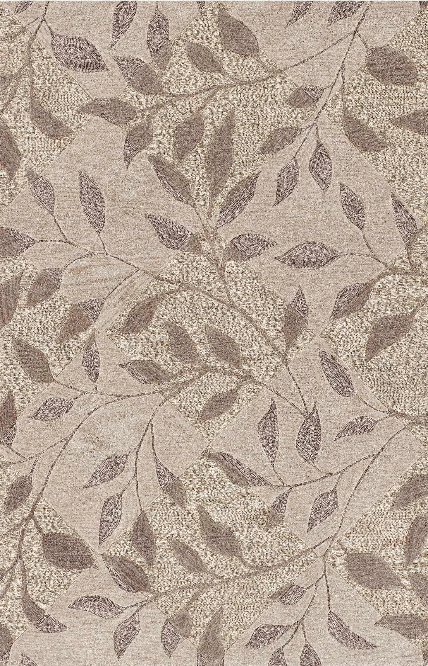 Leaf Texture Ivory Area Rug 5x8 239 Free Ship Rug Studio