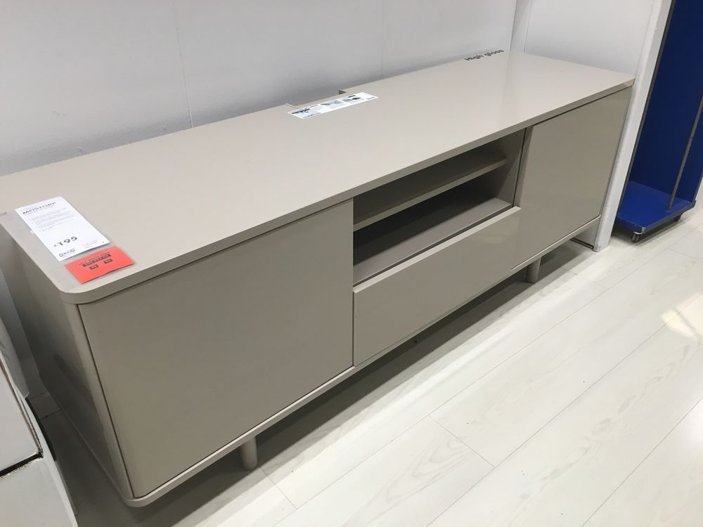 Credenza Porta Tv Ikea : Tv bench ikea mostorp beige new in home furniture diy