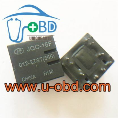 JQC-16F 012-2ZST(555) Automotive commonly used relays 10 PIN