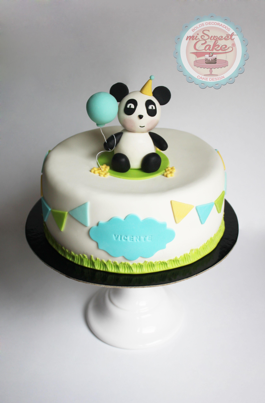 misweetcake ♥ Cake Design: Panda Cake / Bolo Panda https://www.facebook.com/misweetcakedesign/ https://www.instagram.com/misweetcake/