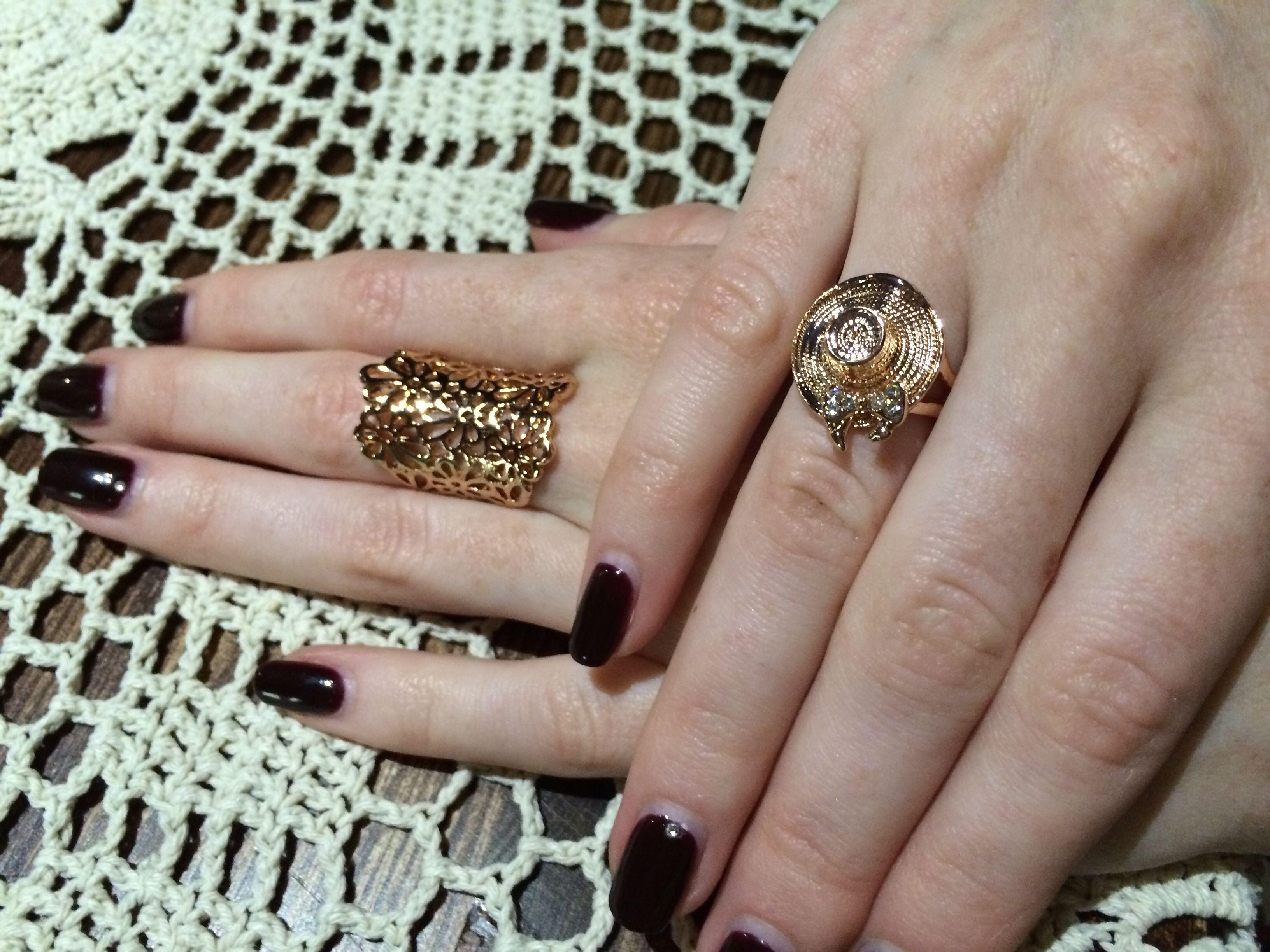 Кольца. Руки
