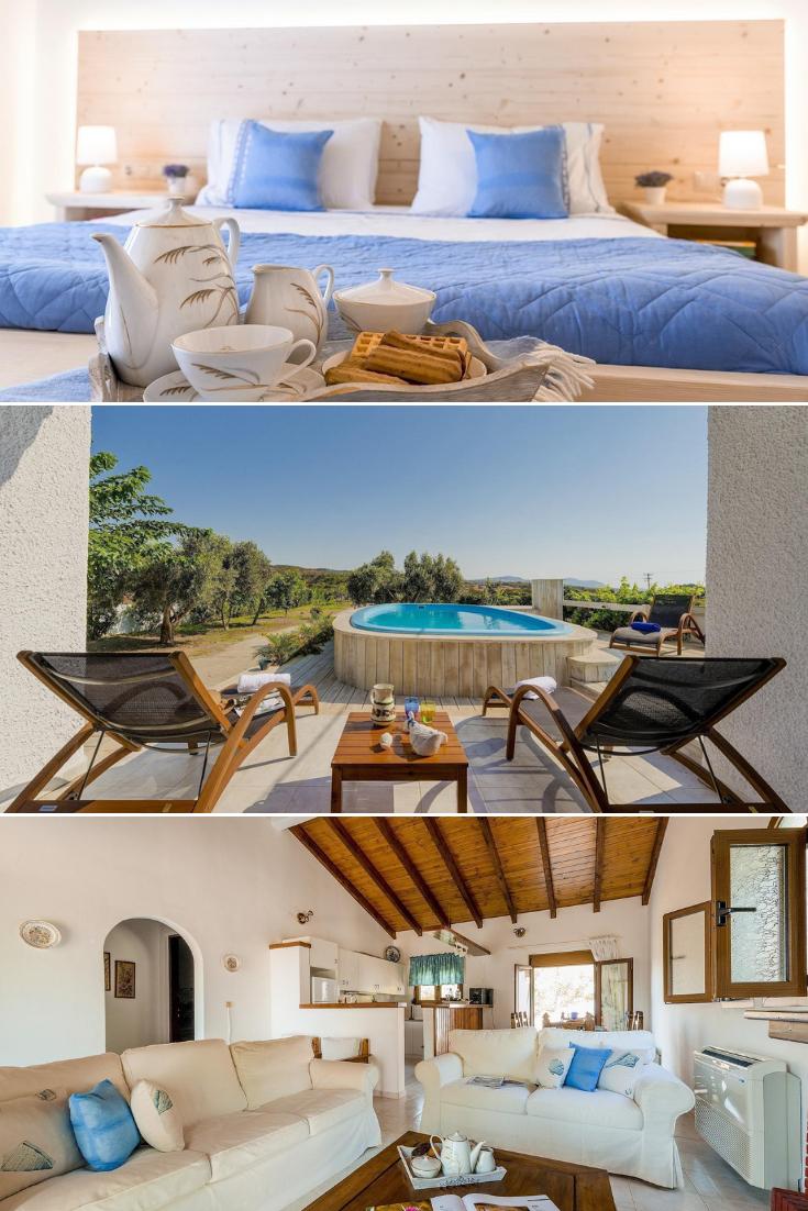 Dieses charmante Ferienhaus mit Terrasse und eigenem