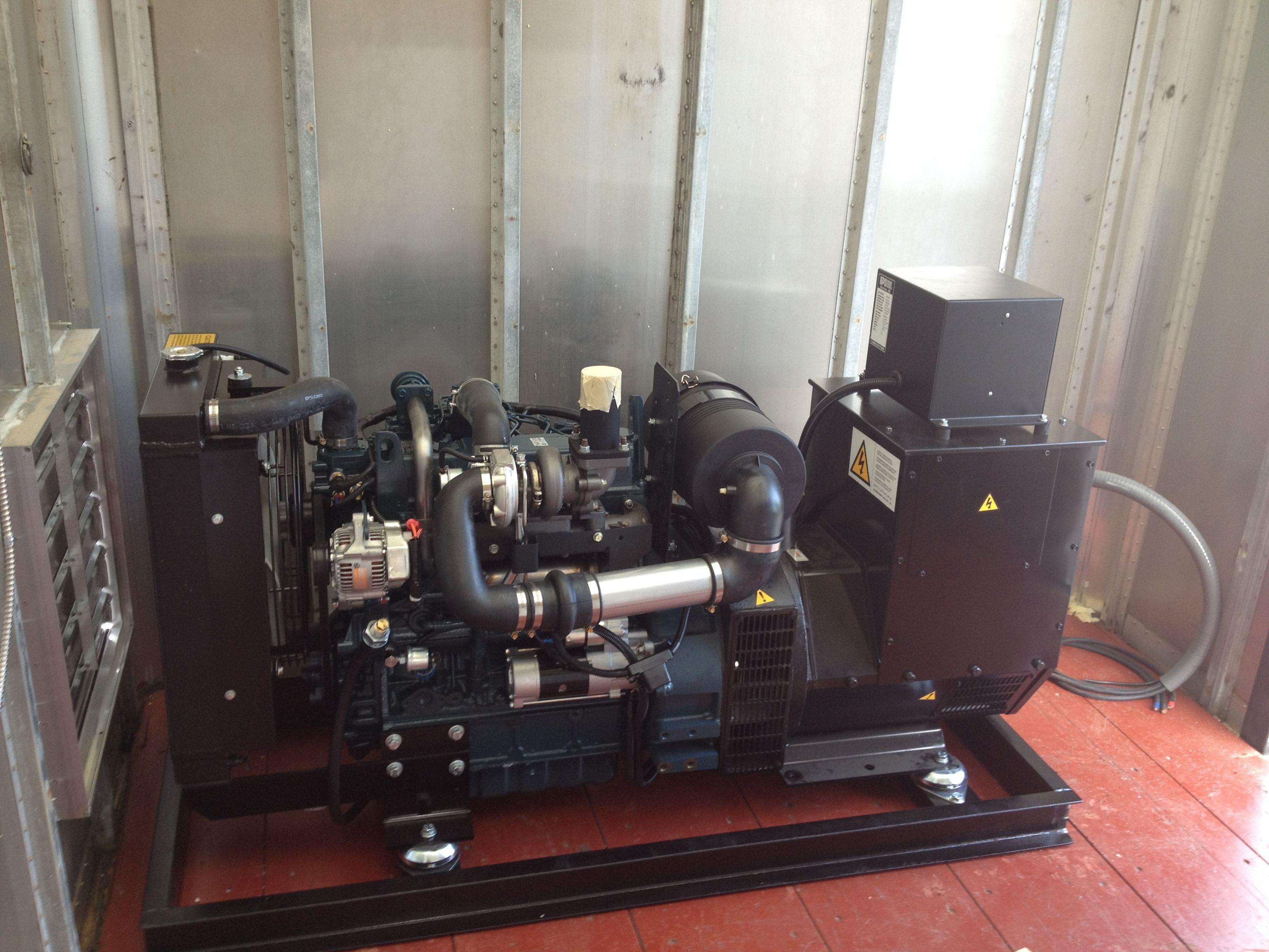 EPS Engine Power Source Kubota Diesel generators The best in the