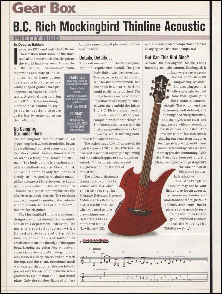 Top 12 Bc Rich Acoustic Guitars Review - Gorgeous Tiny