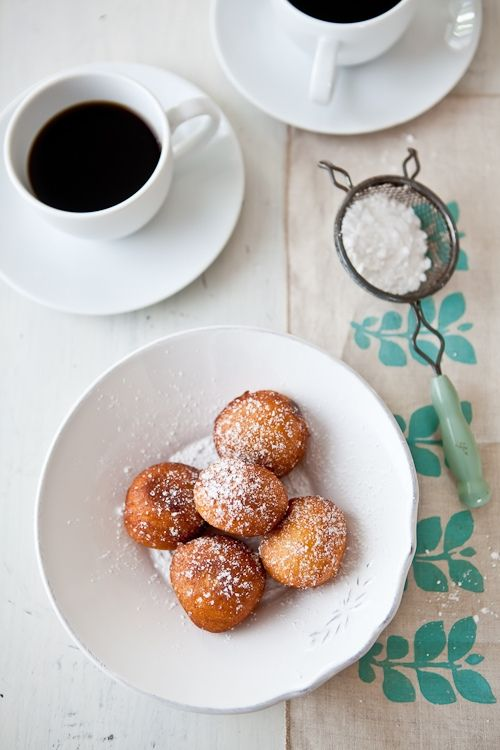 Little Drop Doughnuts With Nutella Recipes Food Favorite Recipes