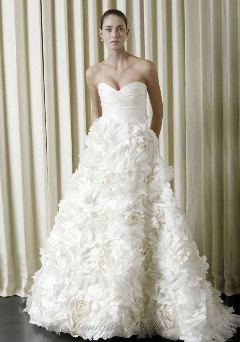 Monique Lhuillier Sunday Rose On Tradesy Weddings