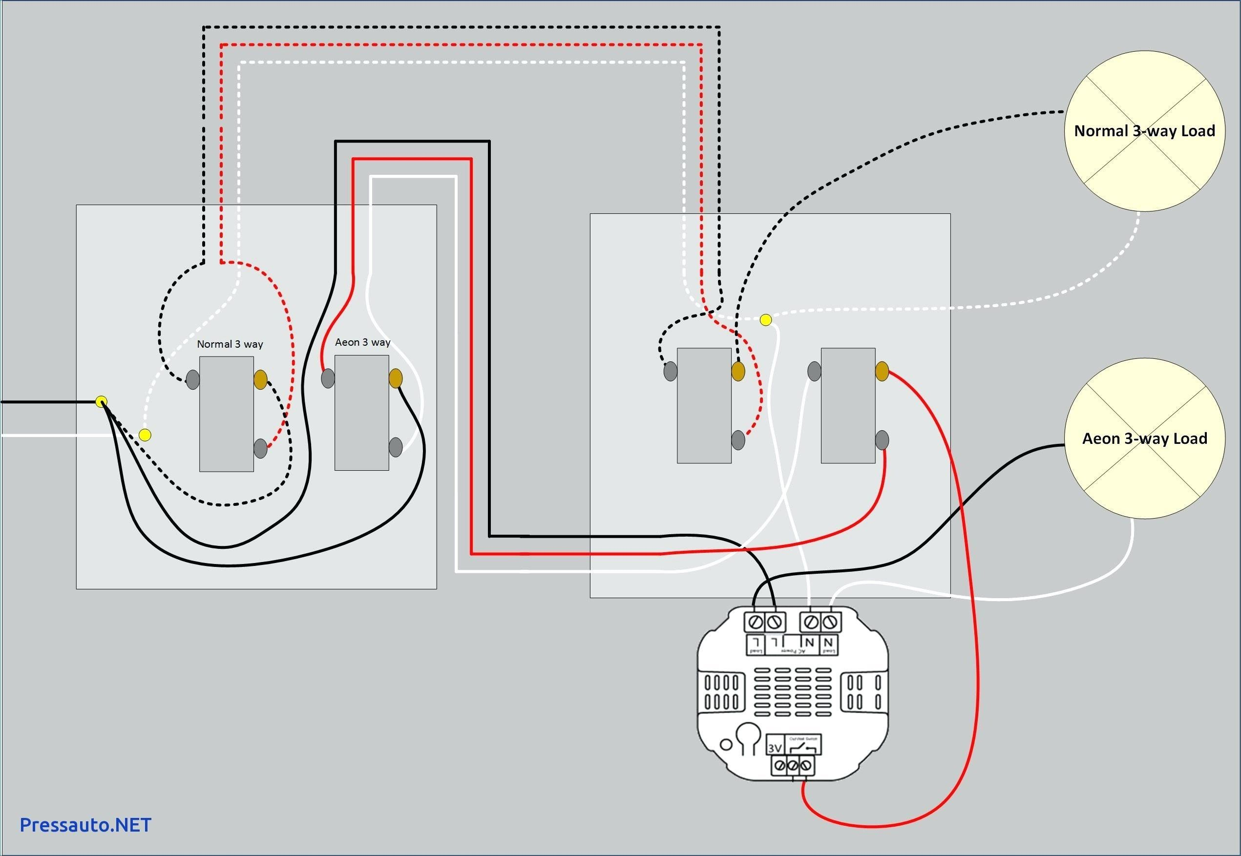 19 Wiring Diagram For 3 Way Light Switch Technique Light