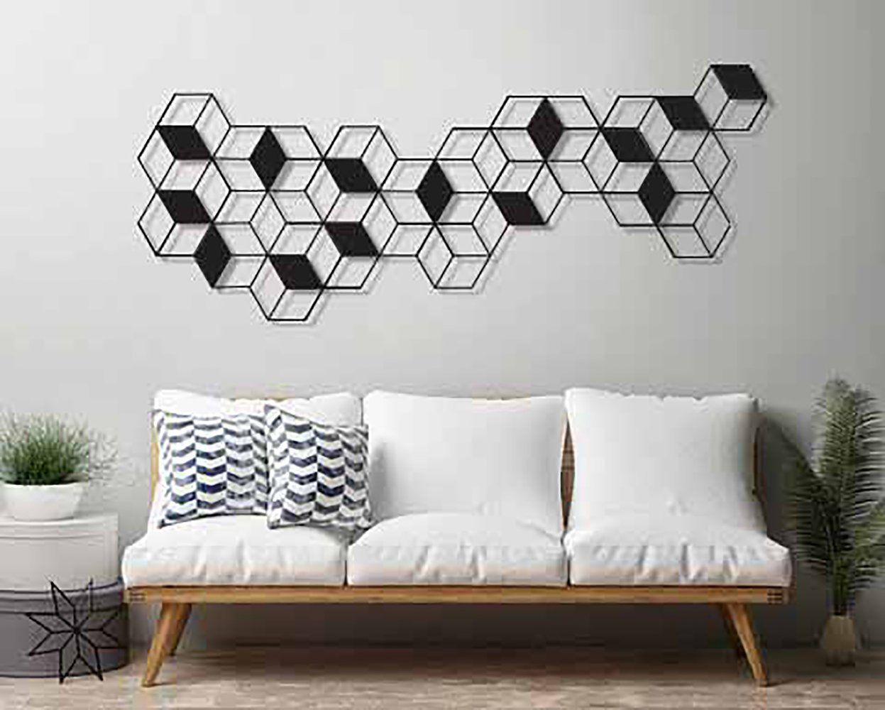 Geometric wall art large wall art metal wall art minimalist wall