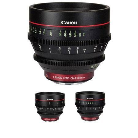 Canon C E Three Cine Lens Dslr Video Digital Camera Lens Canon Lens