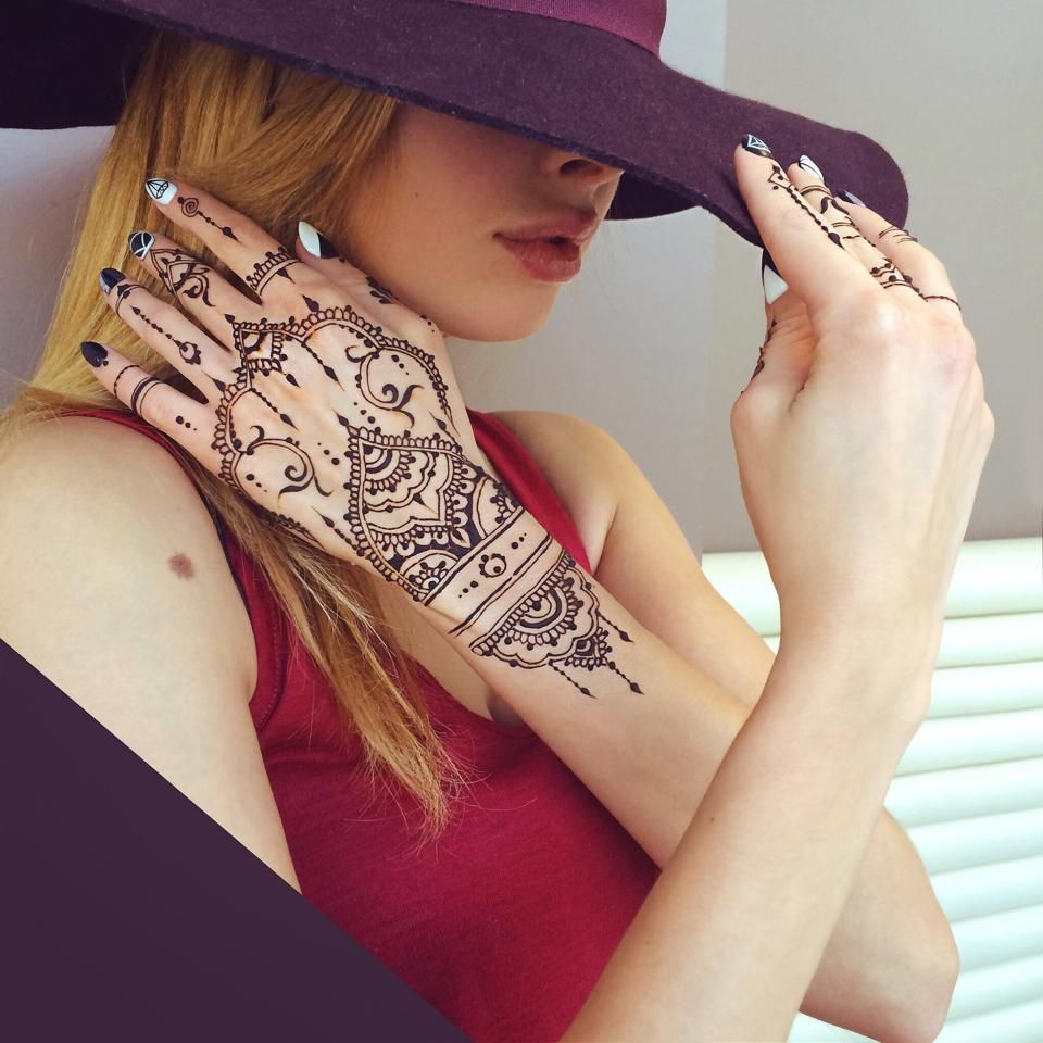 by wonderful henna artist Veronica Krasovska http://instagram.com/veronicalilu/