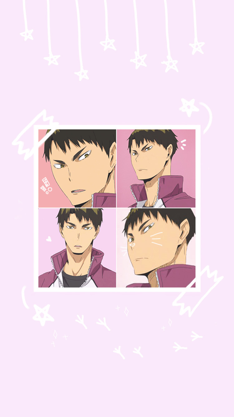 ushijima wallpaper Tumblr (With images) Haikyuu anime