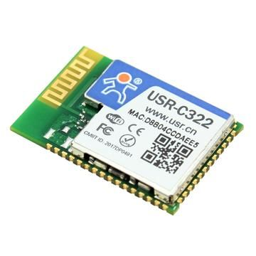 Q13432 USR-C322 Industrial Low Power Serial UART to Wifi Module with