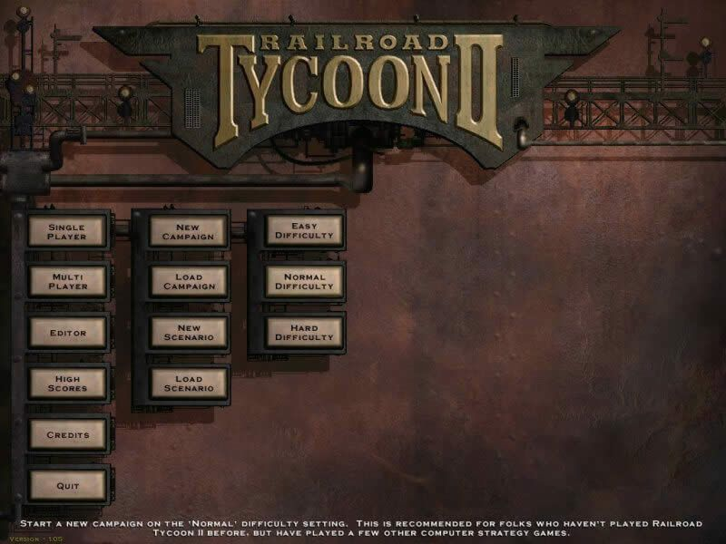 Download Railroad Tycoon 2 simulation for Windows (1998