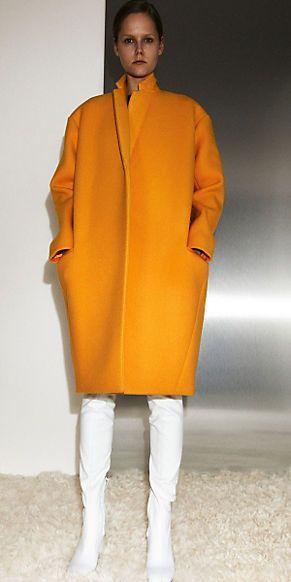 Mustard Oversized Coat. Fall Fashion 2013. #oversizedcoat #fall #fashion