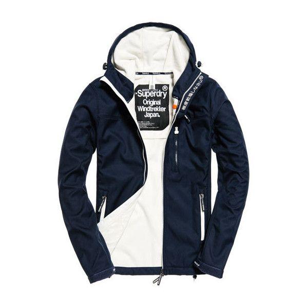 Superdry Hooded Windtrekker Jacket (130 AUD) ❤ liked on