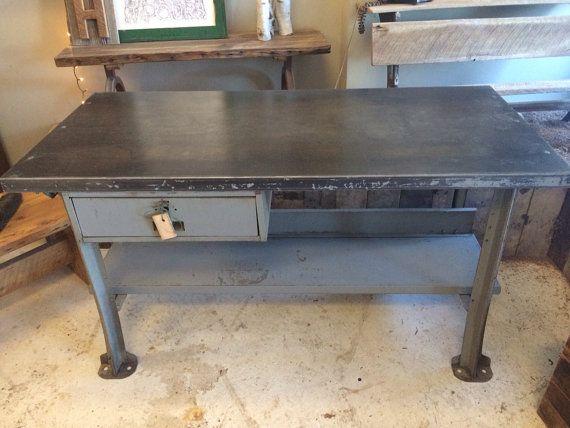 Sale Lyon Gray Steel Industrial By Bucktownvintagegds On Etsy