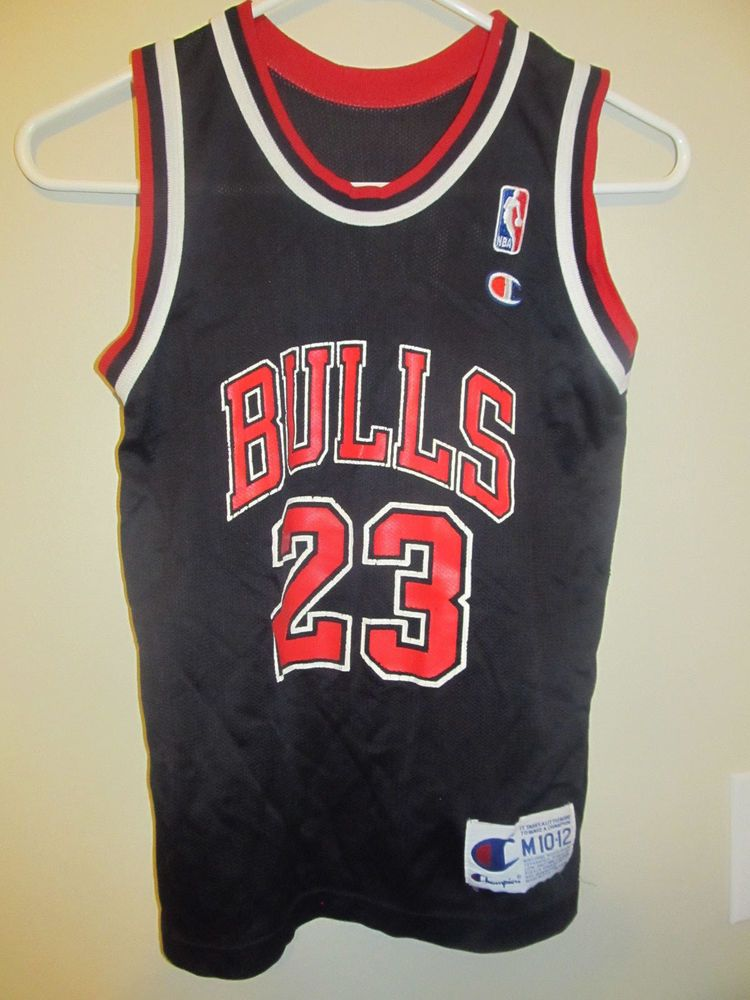 big sale 56f97 881d9 Michael Jordan - Chicago Bulls Jersey - Champion youth ...