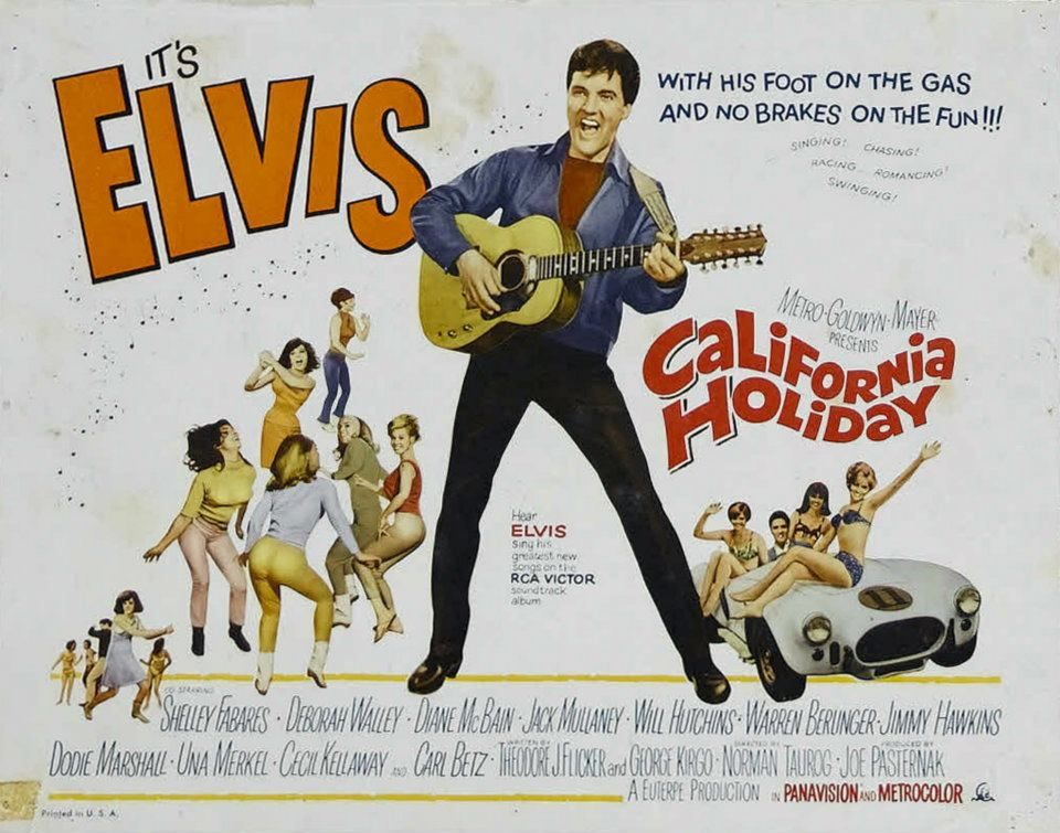 Image result for image, photo, picture, elvis, california holiday, movie poster