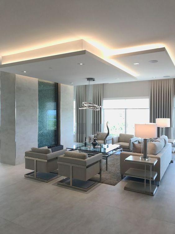 Controsoffitti e illuminazione a LED sono un connubio ...