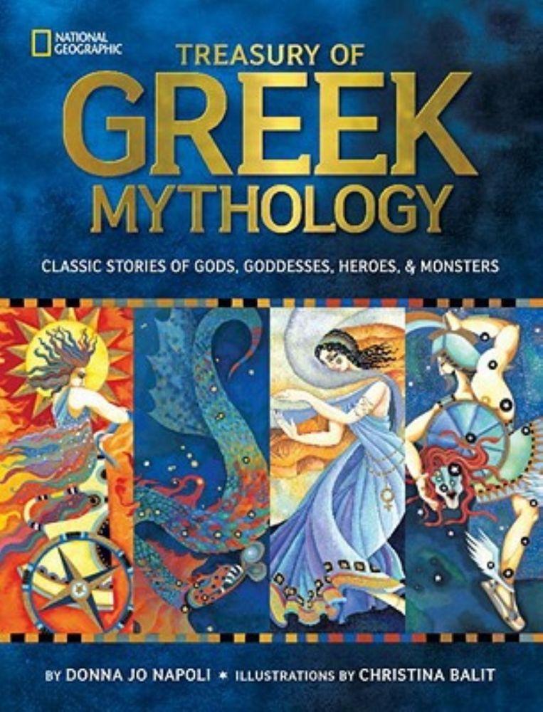 Treasury of Greek Mythology Classic Stories of Gods