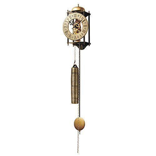 Design Toscano Templeton Regulator Wall Clock Handmade Metal Classic Home Decor #DesignToscano #Country