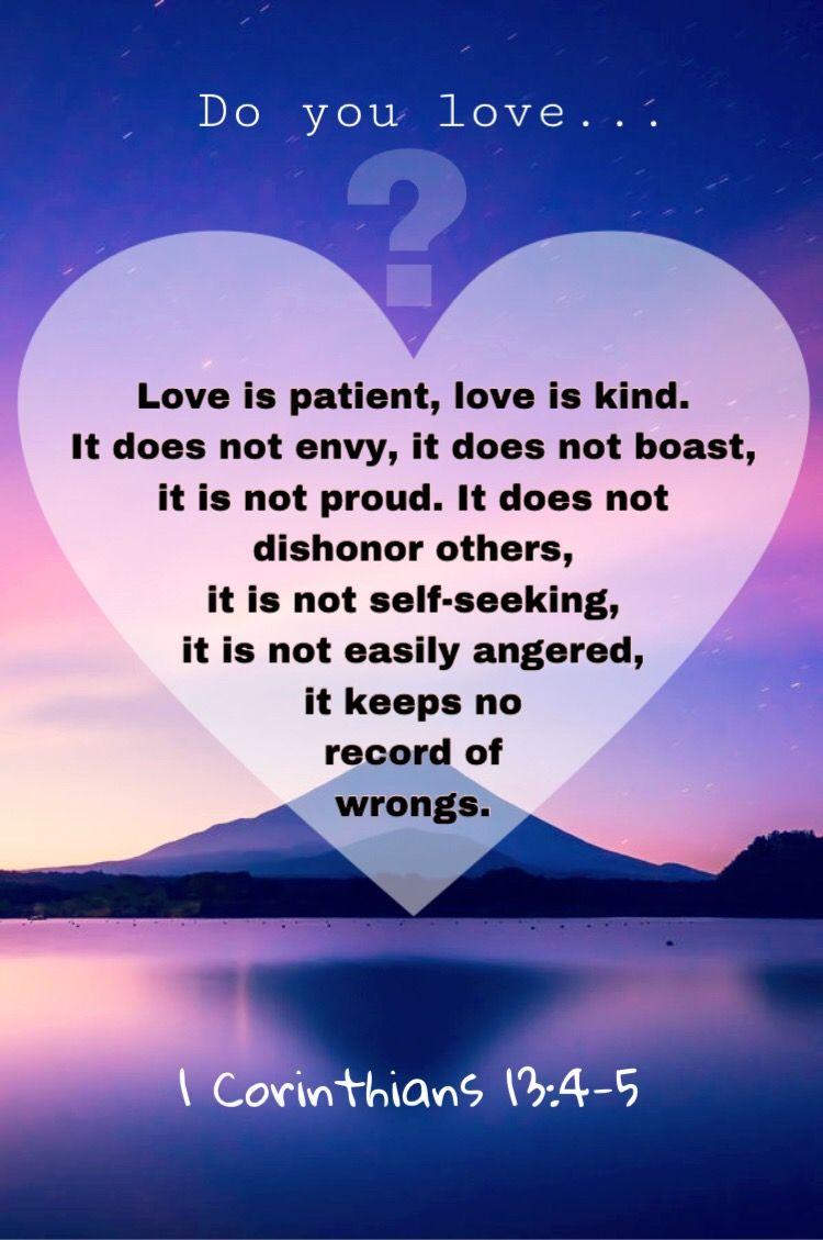 1 Corinthians 13 4 5 Loveis Noteasilyangered Https Www