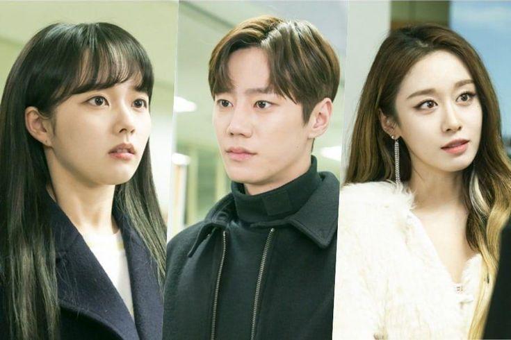 """Jung Ji So, Lee Jun Young, And Jiyeon Have An Awkward Three-Way Meeting In """"Imitation"""""""