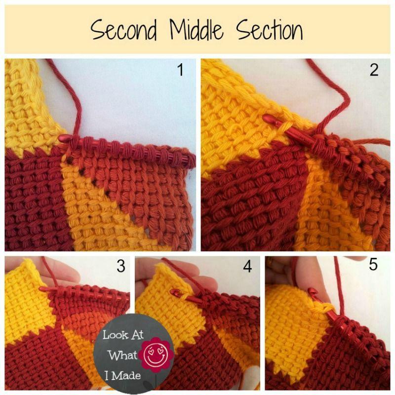 Tunisian Crochet Ten Stitch Blanket Pattern | tuniszi | Pinterest ...