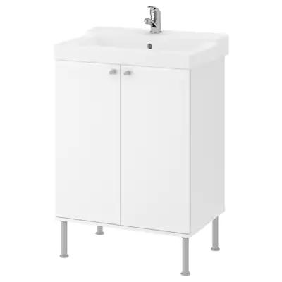 Hemnes Oppen Kommod Med 1 Lada Vit 82x48x76 Cm Ikea In 2020 Hemnes Open Shelving Ikea Hemnes