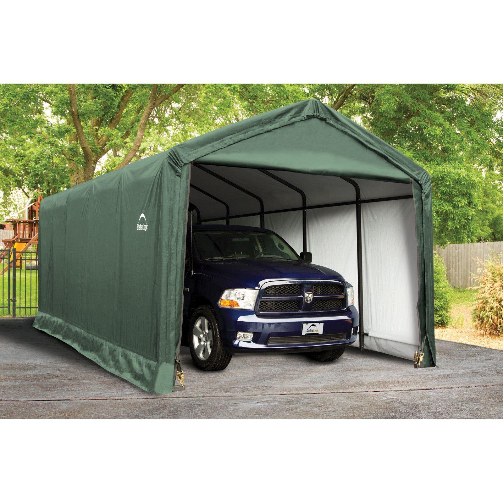 ShelterTube 12 ft. x 25 ft. Garage | Portable garage ...