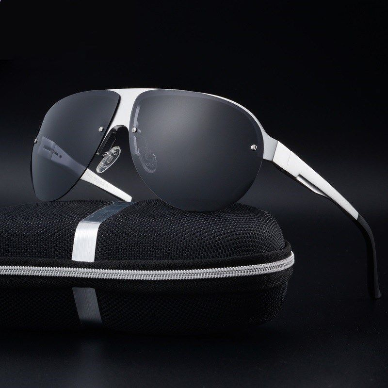 8ef0b14ddb Price tracker and history of Aluminum Magnesium Sunglasses men new brand  designer men driving sport fishing sunglasses Polarized goggle fashion male  glasses